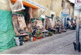 pasar calle linares, la paz, meksiko