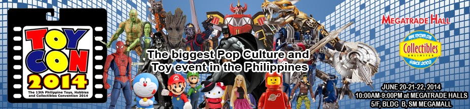 13th Philippine Toys, Hobbies and Collectibles Convention 2014