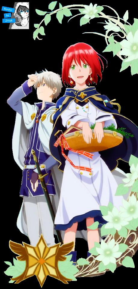 Render Shirayuki & Zen Wistaria+Akagami no Shirayuki-hime