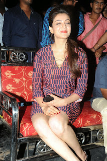 Kajal Agarwal Latest Pictures at Govindudu Andarivadele Movie Teaser Launch  8196.JPG