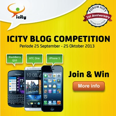 ICITY Blog Competition