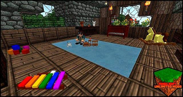 DecoCraft Mod cuarto de niños