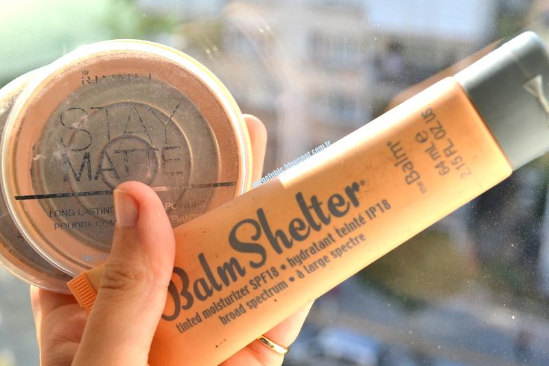 Bitenler - Rimmel London Stay Matte Pudra, The Balm Balm Shelter