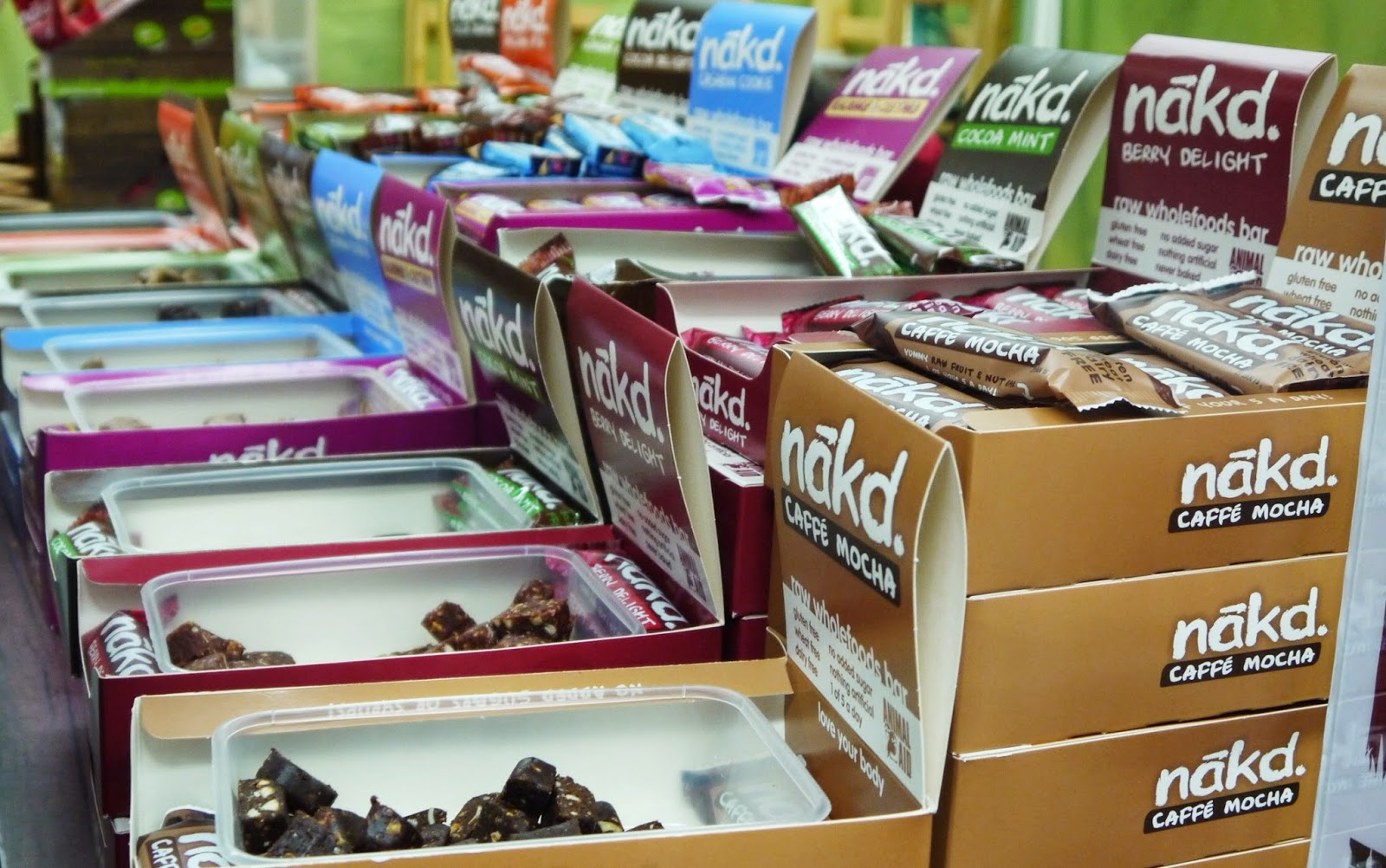 Nakd Bars at Be:Fit London