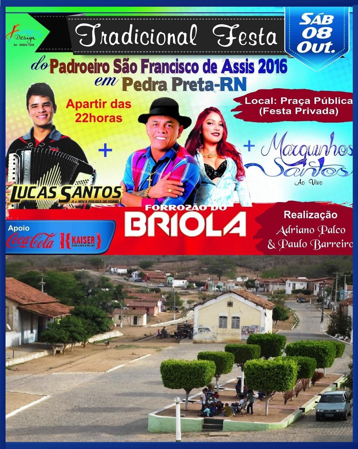 FESTA DO PADROEIRO DE PEDRA PRETA RN