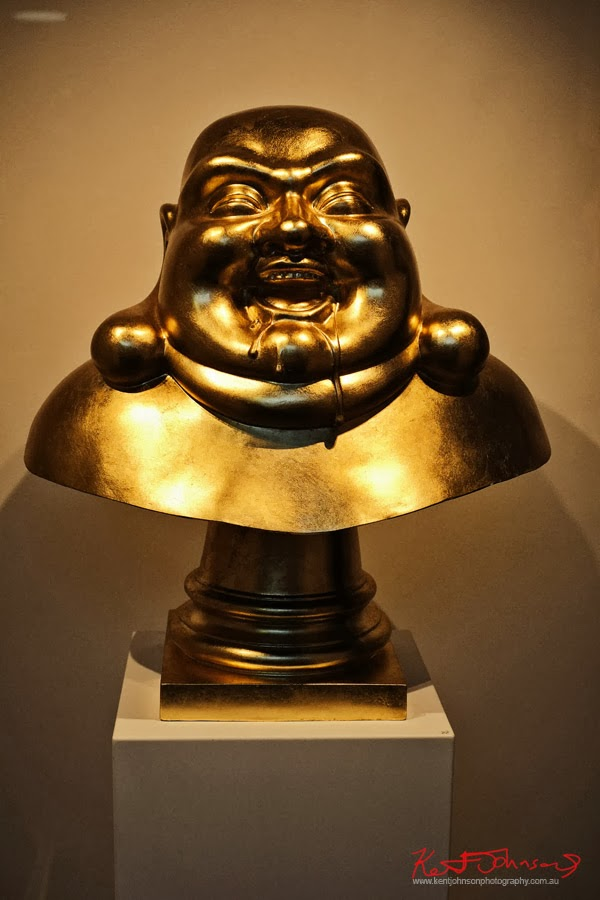 'Freedom' a drooling Buddha by Will Coles - Death Wish 2013