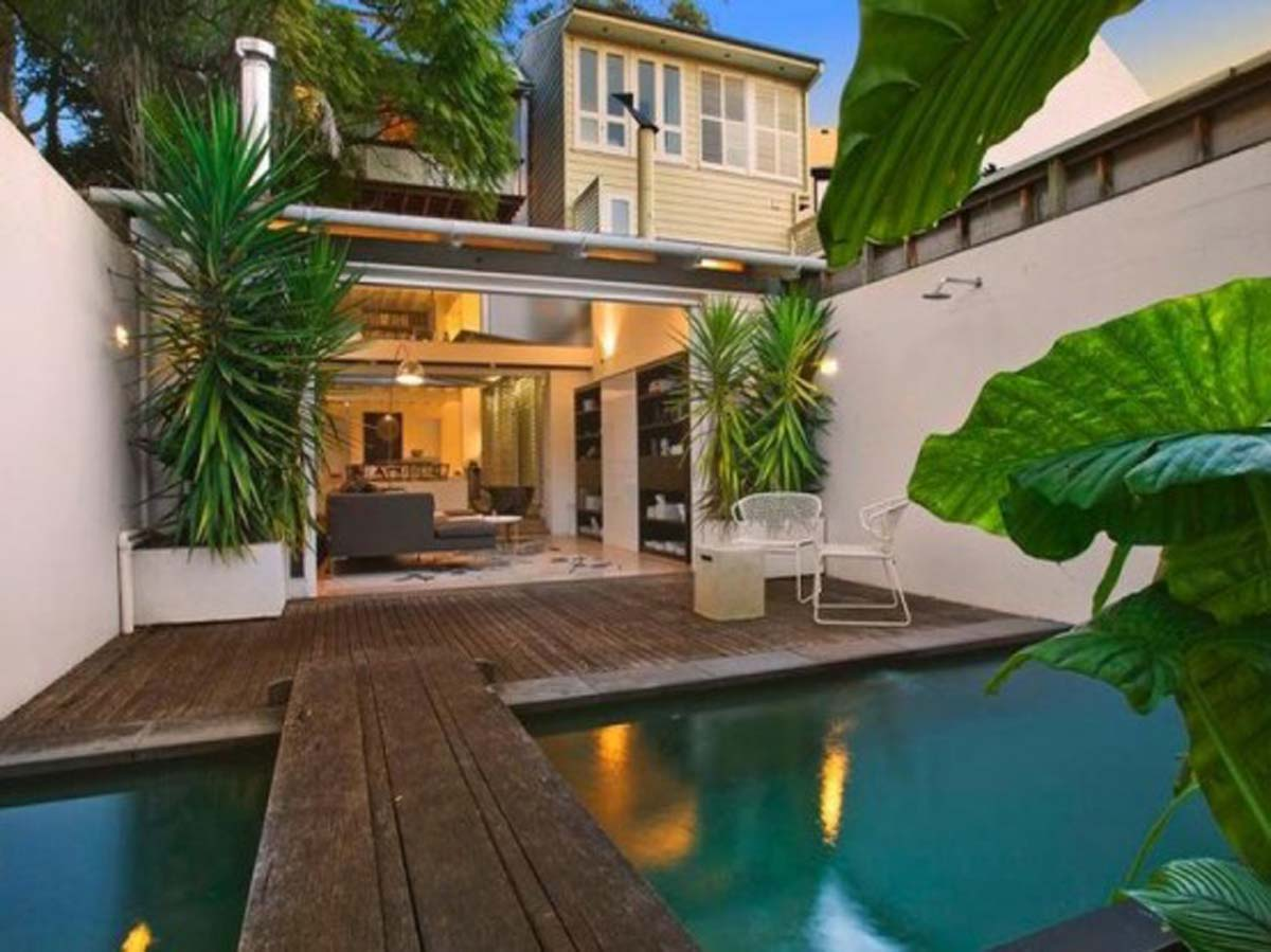 tropical style houses - house style