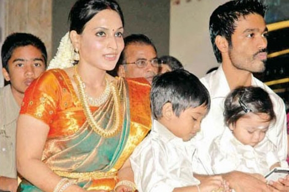 dhanush aishwarya kids photos -#main
