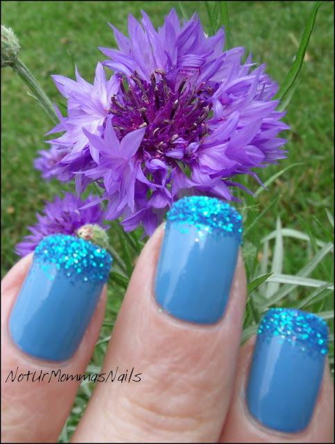 Zoya Yummy and Glitter Tips
