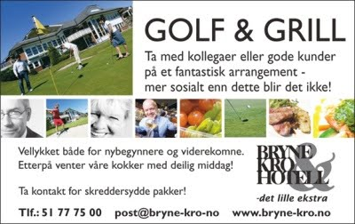 Golf & Grill, et sosialt arrangement.