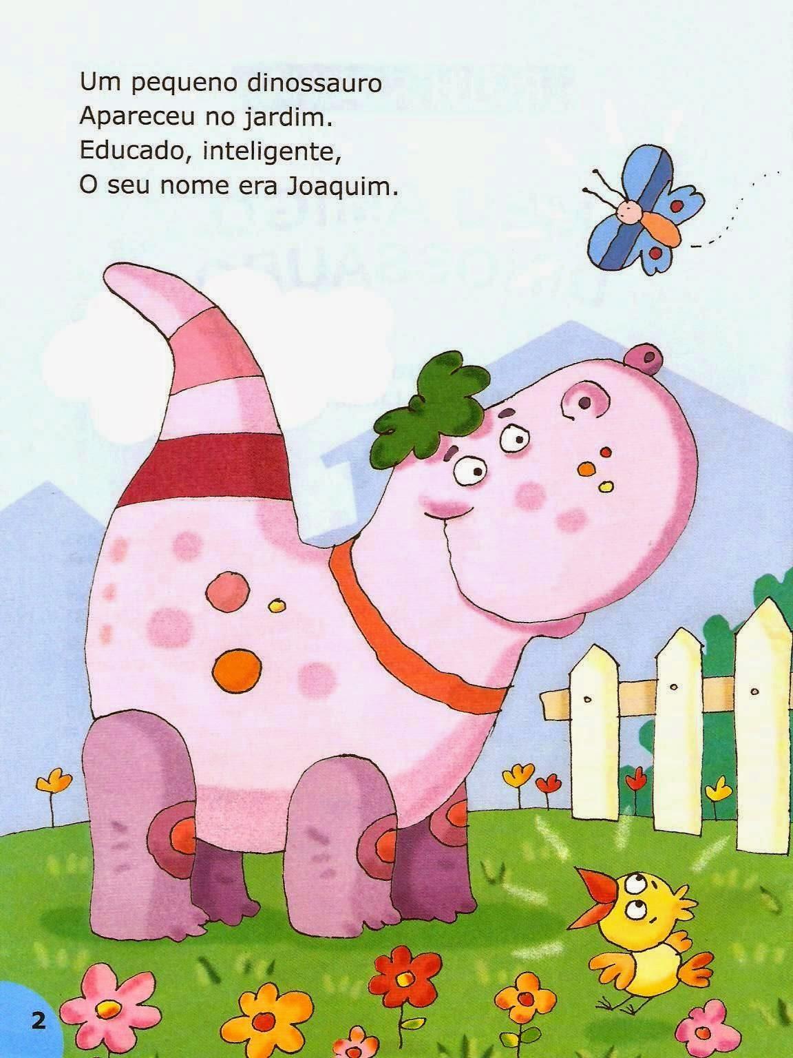 Famosos Na sala de aula: Literatura infantil : Meu amigo dinossauro ( Ruth  QI05