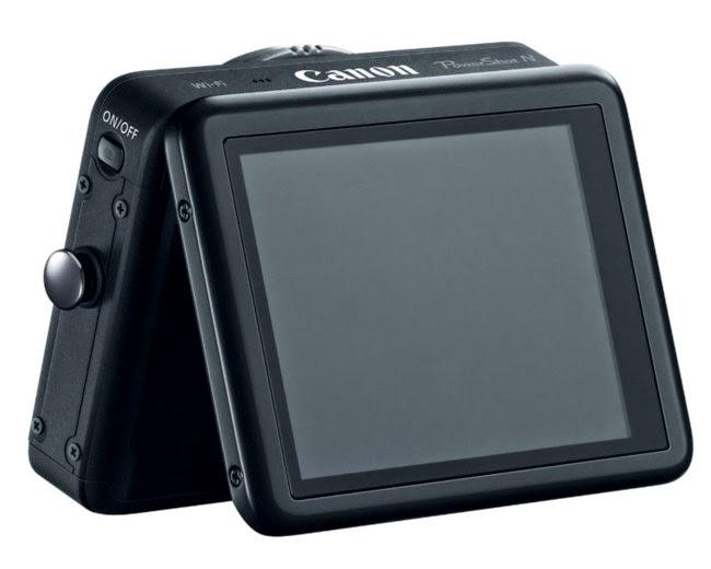 Sin botones Canon PowerShot N