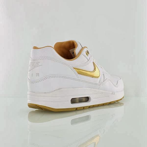 Nike Air Max 1 FB Woven Weiss