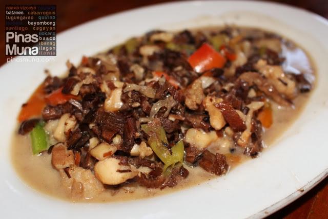 Venes a traditional Ivatan dish