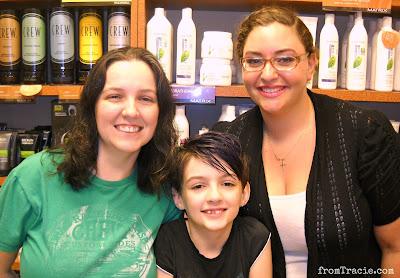 Tracie, Katarina, and Amanda
