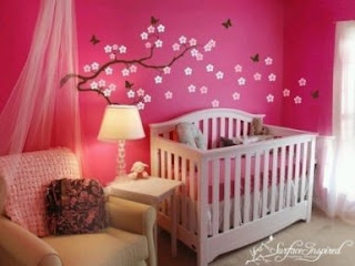 Baby Bedroom Furniture, Girl