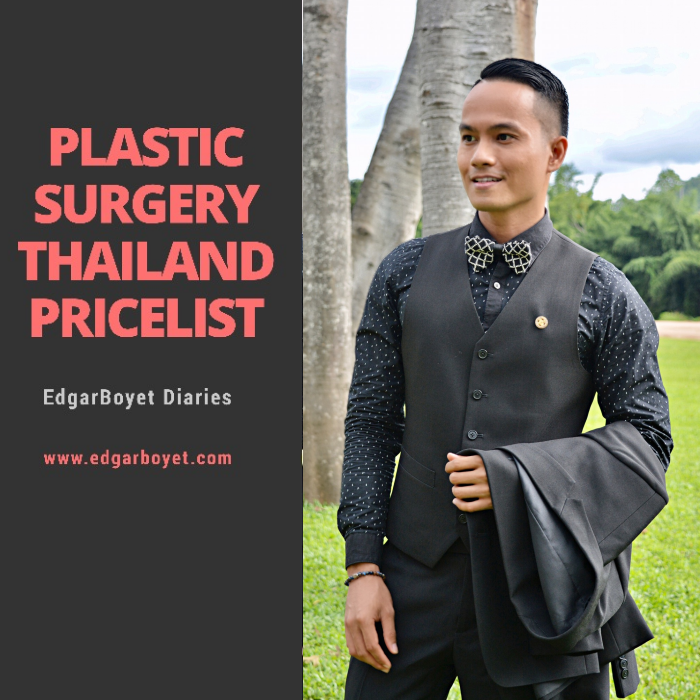 PLASTIC SURGERY THAILAND PRICELIST
