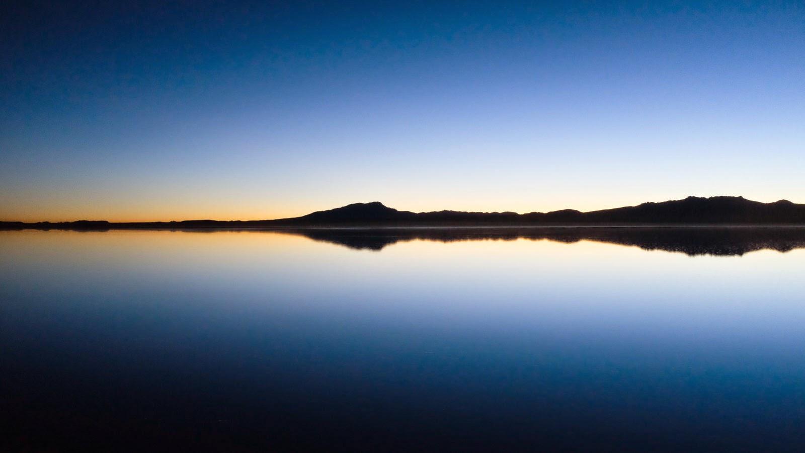 El espejo natural más grande del planeta