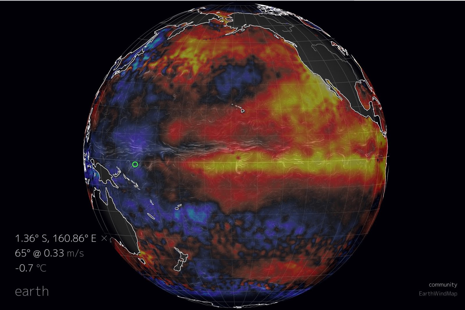 Earth weather model