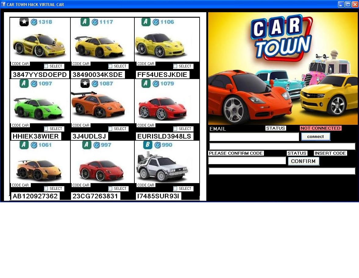 Cheatcar Town Points Coins Hack V