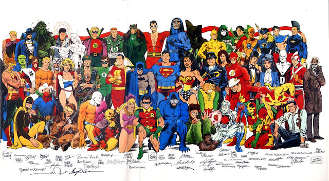 Favori Les super-héros dans l'art populaire YI13