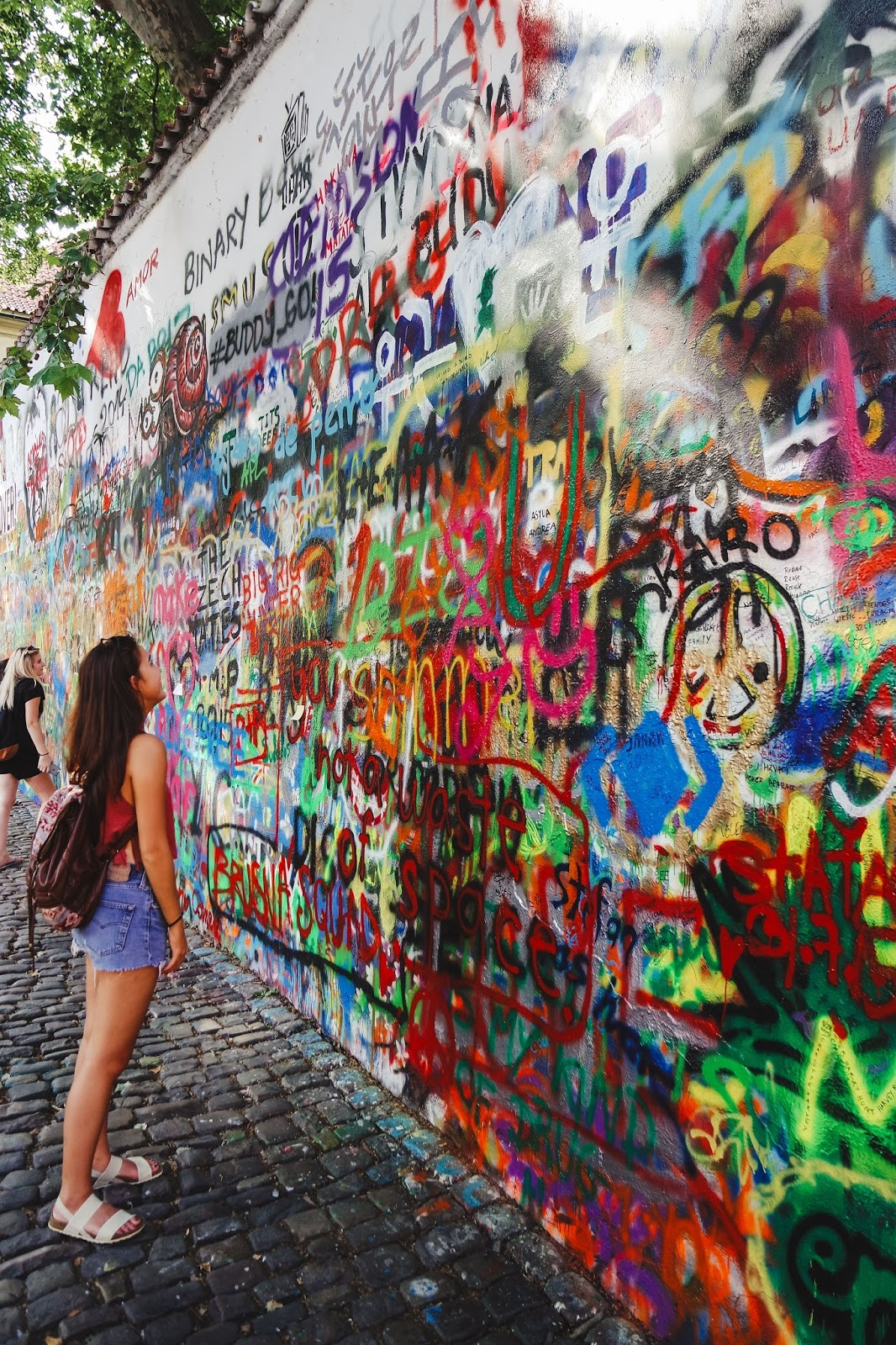 prague lennon wall 2