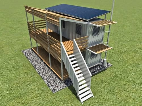Double Deck Container Home