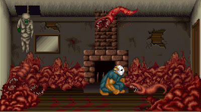 Splatterhouse 2 sur megadrive: retour dans l'enfer de West Mansion!