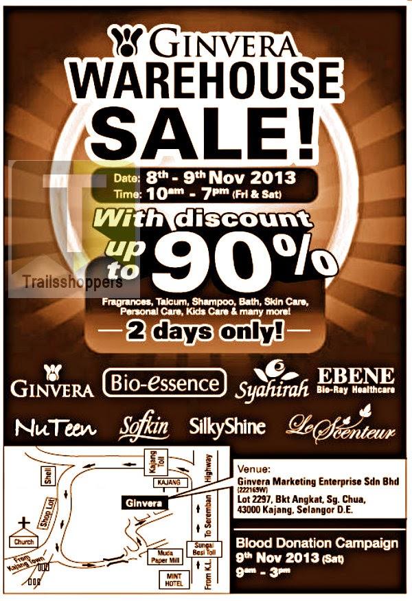 Ginvera Warehouse Sale 2013
