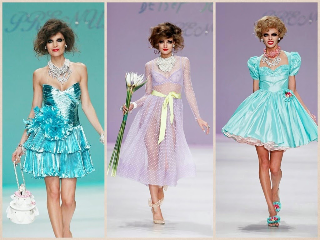 finale sfilata betsey johnson PE 2015, new york fashion week
