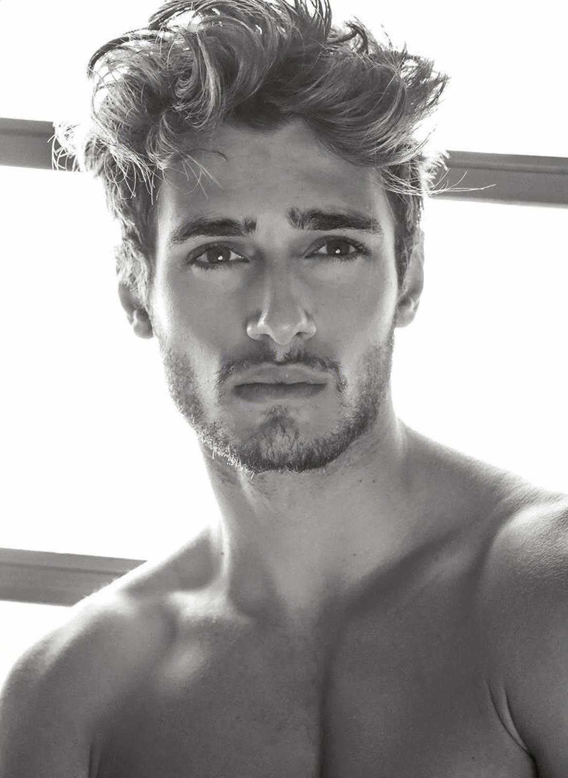 Modelwerk Blog Exclusive Male Model Scene Portrait
