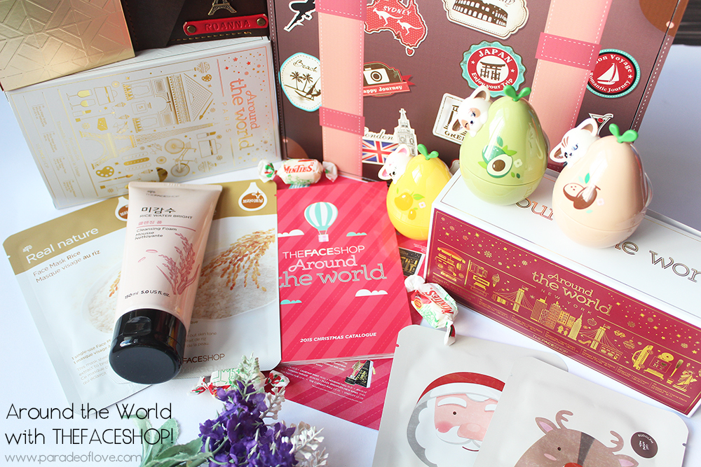 THEFACESHOP's Around the World Holiday 2015