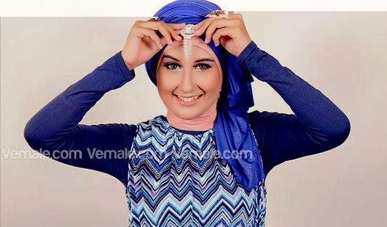 Tutorial Hijab Turban Pashmina Glitter Terbaru