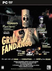 Grim Fandango Remastered-GOG Terbaru 2015 cover