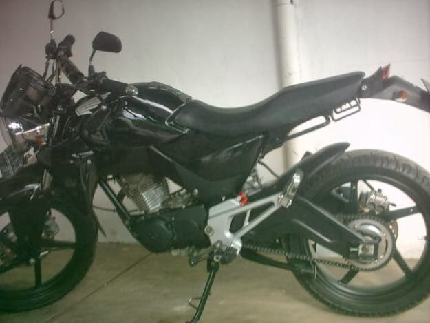 MODIFIKASI HONDA MEGAPRO 2010 THE HUNTER HAS LIKE HONDA TIGER 250CC