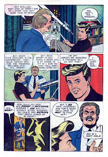 77 Sunset Strip / Four Color Comics #1263 dell tv 1960s silver age comic book page art by Russ Manning