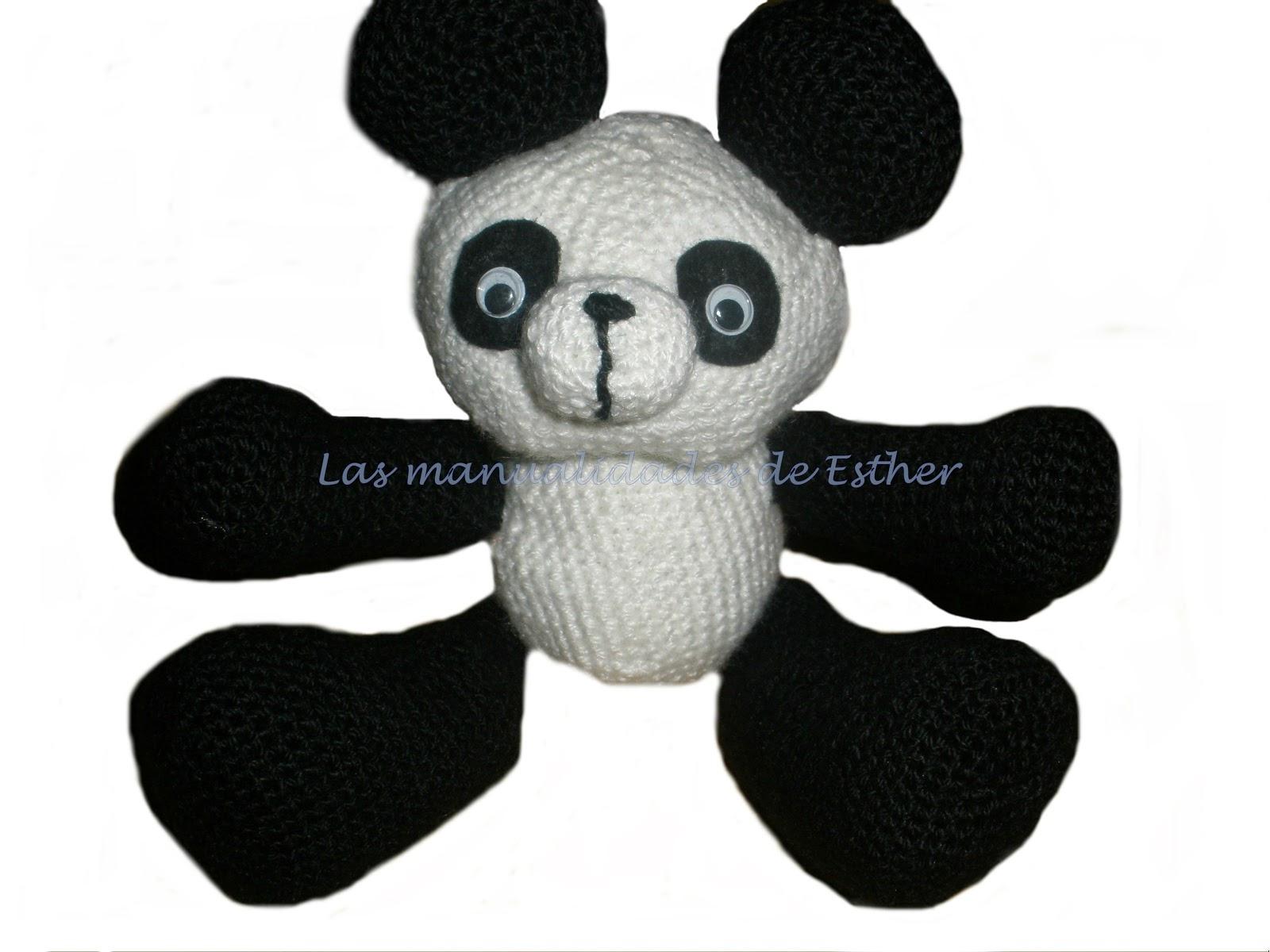 Amigurumi Oso Panda Patron : Panda gigante amigurumi kalulu for