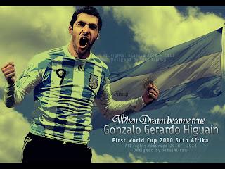 Gonzalo Higuain Wallpaper 2011 2