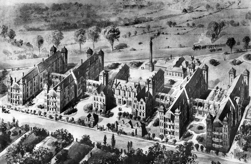 Dulwich Hospital ca. 1900