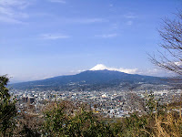 富士山と沼津市街