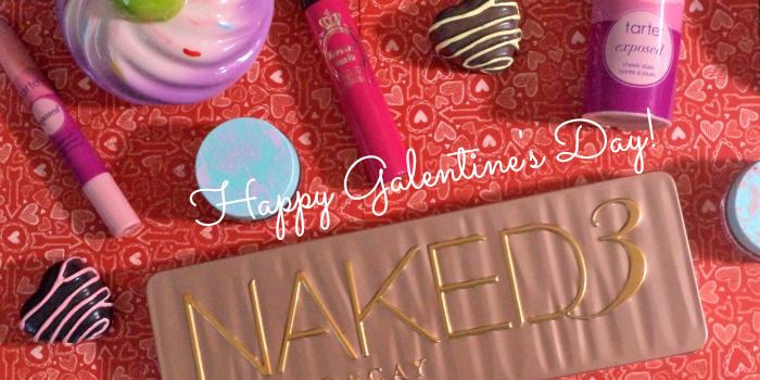 Urban Decay Naked 3 Palette Makeup, Valentine's Day makeup
