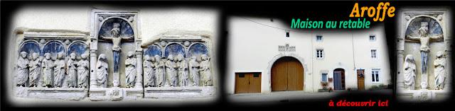 AROFFE (88) - Maison au retable (XVIe)