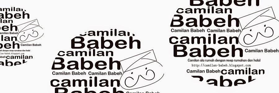 camilan Babeh.