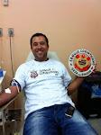 Cachorrão apoia a Campanha Sangue Corinthiano