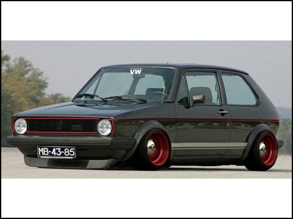 vw golf mk1 2 doors the 1st one is always the best langkasa space eagle. Black Bedroom Furniture Sets. Home Design Ideas