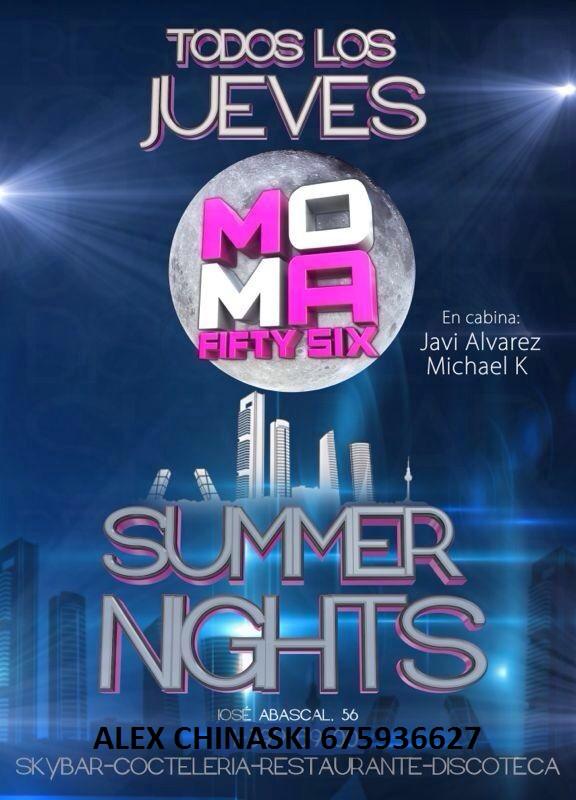 MOMA Fifty Six Jueves 19 de septiembre