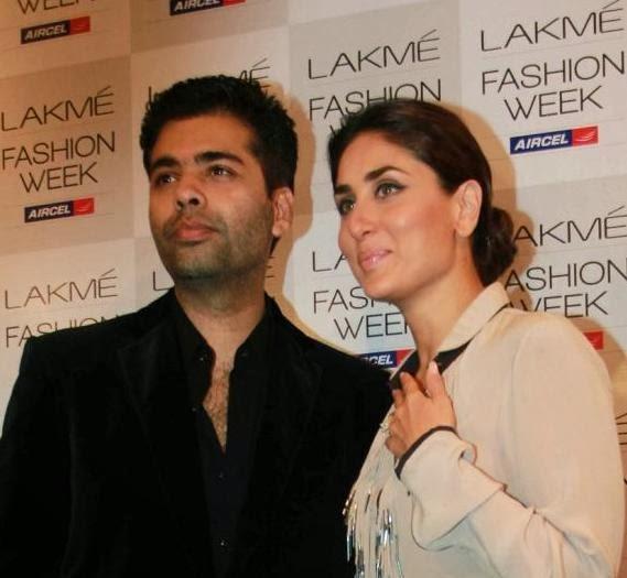 Kareena Kapoor with karan johar touching her bra in public