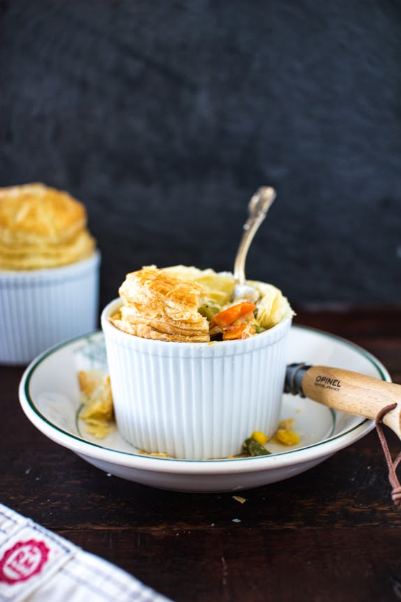 CUP OF JO: Mini Vegetable Pot Pies