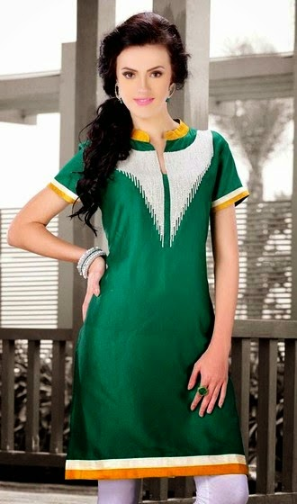 New Styles of Designer Kurtis 2014