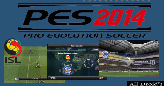 PES 2014 Tambahan Tim ISL Mod dari PES 2012 - Ali Droid's